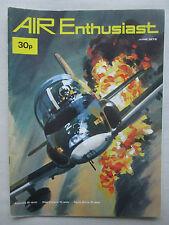 AIR ENTHUSIAST 6/72 LYNX HEINKEL HE-162A-2 FIREFLY GLIDER ROYAL SAUDI AIR FORCE