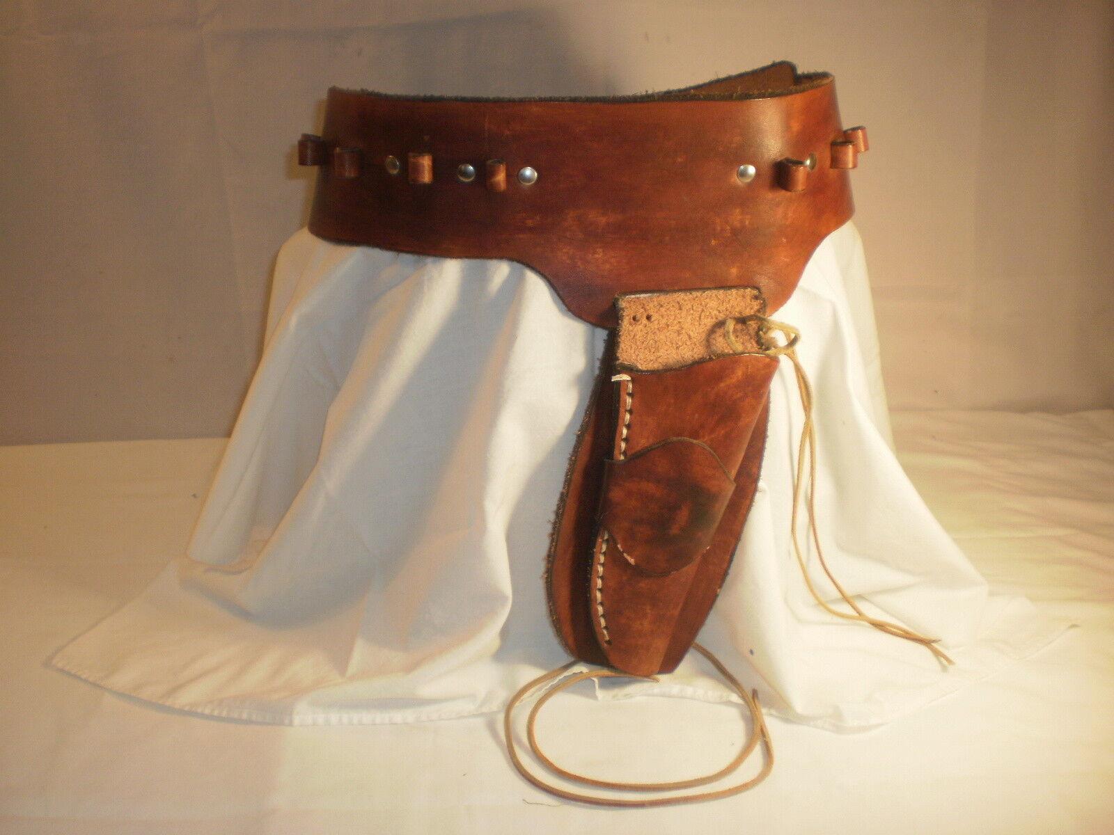 Funda de cuero occidental estilo personalizado hecho a mano