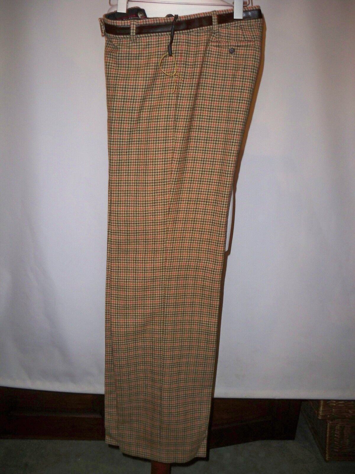KAREN MILLEN  WOOL & CASHMERE  TWEED  WIDE LEG  TROUSERS  RRP