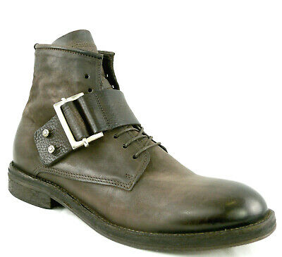 AIRSTEP A.S.98 Italy Stiefel 46 LEDER Men Boots Braun Used Stiefelette Schuh NEU   eBay