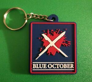 Blue October Keyring / Keychain Secret Santa Gift