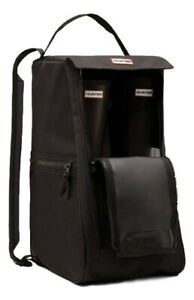 SALE-NEW-Hunter-Tall-Wellies-Wellington-Boots-Black-Boot-Bag-With-Extra-Pockets