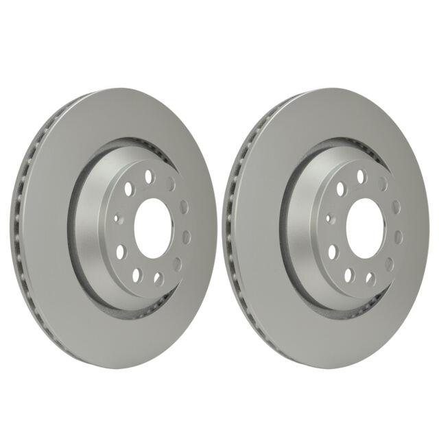 Rear Brake Discs 310mm 54407PRO fits VW GOLF ALLTRACK BA5, BV5 1.8 TSI 4motion