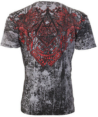 Archaic AFFLICTION Mens T-Shirt HEARTH Tattoo Biker MMA UFC M-3XL $40 NWT