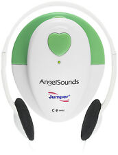 Angelsounds Fetal Doppler JPD-100S Baby Heart Monitor FDA Approved USA, Green
