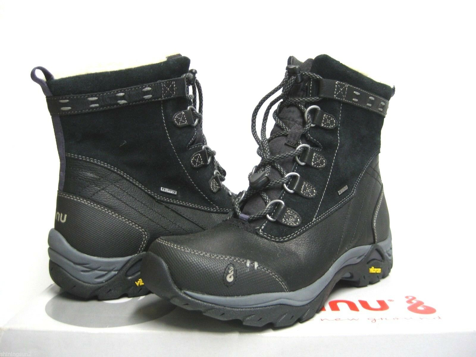 Ahnu Twain Heart Women Boots Black US 9.5 /UK7.5/EU40