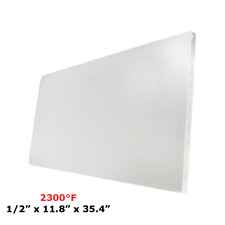 12 Refractory Ceramic Fiber Insulation Board Ms 2300f 118 X 354