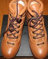 $199 Joe's Jeans Camel Avery Leather Boots Sz 8m