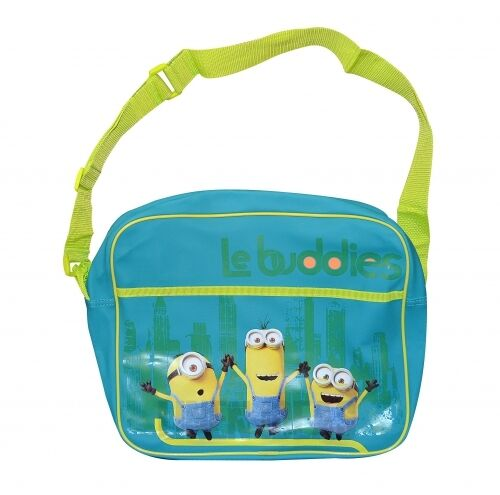 fbec148336f2 Genuine Branded Minions Le Buddies Turqoise School Shoulder Messenger Bag  350mm for sale online