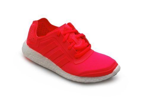 Womens Adidas - Pureboost W - B35788 - Adidas Pink Coral White Trainers 09bfad