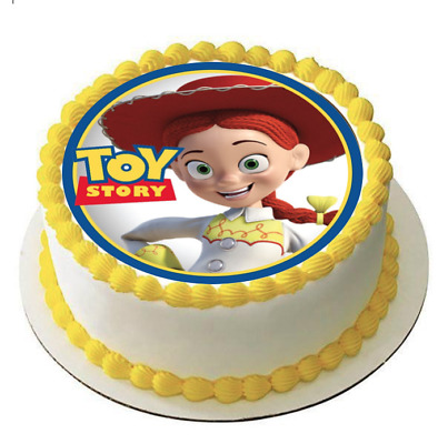 Outstanding Jessie Toy Story Edible Cake Topper Icing Image Print Cowgirl Personalised Birthday Cards Sponlily Jamesorg