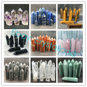 Wholesale-Natural-Crystal-Quartz-Obelisk-Tower-Wand-Point-Reiki-Healing-Gift