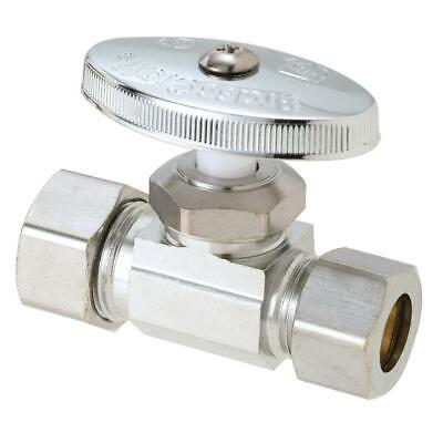 BrassCraft R14X C1 1//2 Nominal Sweat Inlet x 3//8 O.D Compression Outlet Multi-Turn Straight Valve