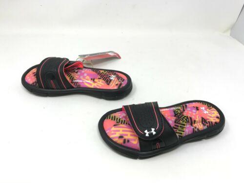 3000249-001 423N Ignite Geo Mix VIII slide sandals Girls Under Armour