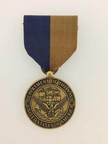 GENUINE Full Size United States Navy Meritorious Public Service Award  medal