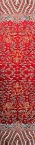 "104"" TAPESTRY STYLE SILK DAMASK JACQUARD BROCADE CHINA DRAGON ROBE FABRIC"