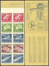 Sweden 1972 Steam Engine/Trains/Rail/Bus/Ship/Horse/Transport 10v bklt (n40005)