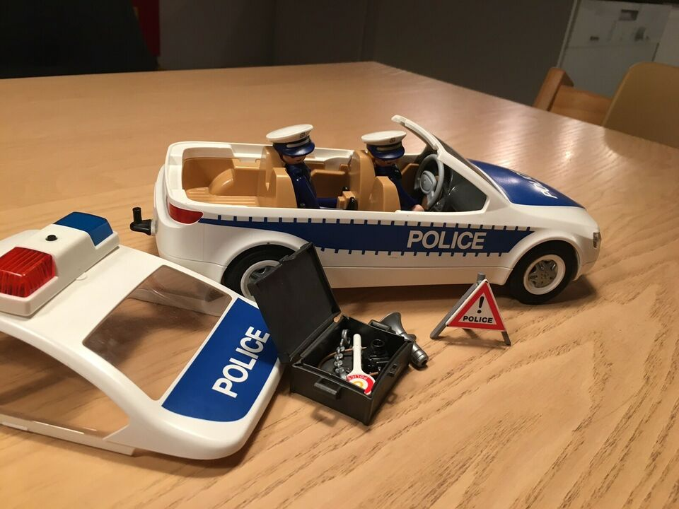 Playmobil politibil