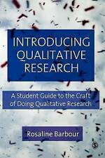 Introducing Qualitative Research: A Student's Guide to the Craft of-ExLibrary