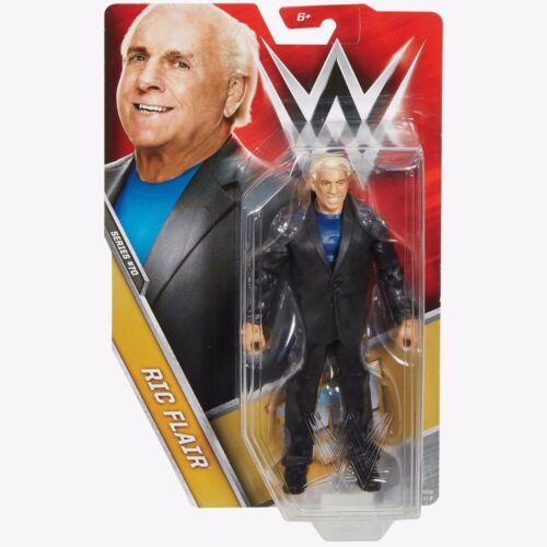 WWE Ric Flair Basic 70 Wcw MATTEL LUCHA LIBRE FIGURA DE ACCIÓN Totalmente Nuevo