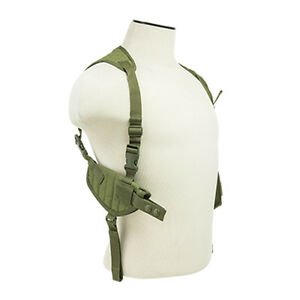 Tactical-GREEN-Shoulder-Holster-w-Mag-Pouches-Fits-GLOCK-17-19-19X-22-23-45