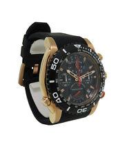 Bulova Precisionist 98B211 Men's Round Chronograph Date Analog Silicone Watch