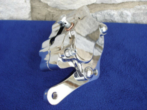 FOR HARLEY DNA MIDWEST FXST /& CHOPPERS GLIDE FRONT END 4 PISTON BRAKE CALIPER