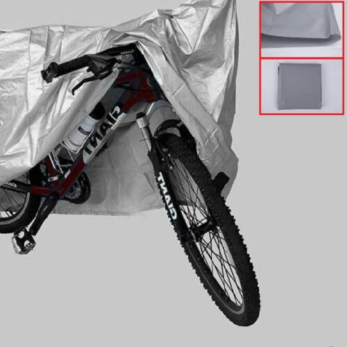 New Polyester Bike Bicycle Cycling Waterproof Dust Protector Cover Translucent