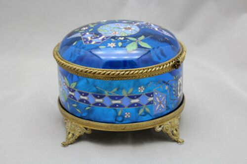 MOSER HAND PAINTED DRESSER BOX C.1910