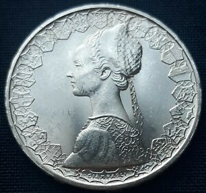 Italy-500-Lira-Silver-Coin-1965-Uncirculated