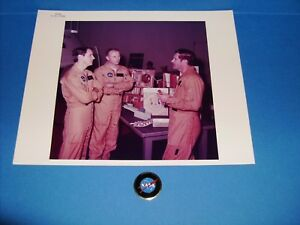 Collectibles Nasa Skylab-4 Crew Serial Number Photograph Jan.19,1972 Apollo