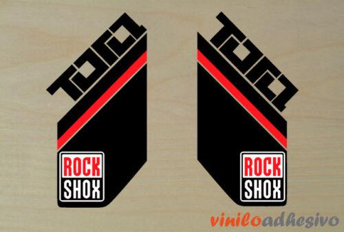 PEGATINA STICKER VINILO Rock Shox TORA ref2 horquilla autocollant aufkleber