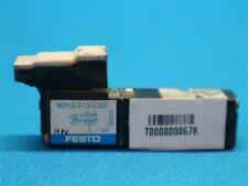 Festo Electric Solenoid MZH-5//2-1.5-L-LED w// Manifold