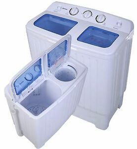Washer and Dryer Combo Portable Washing Machine 11lbs Stackable ...