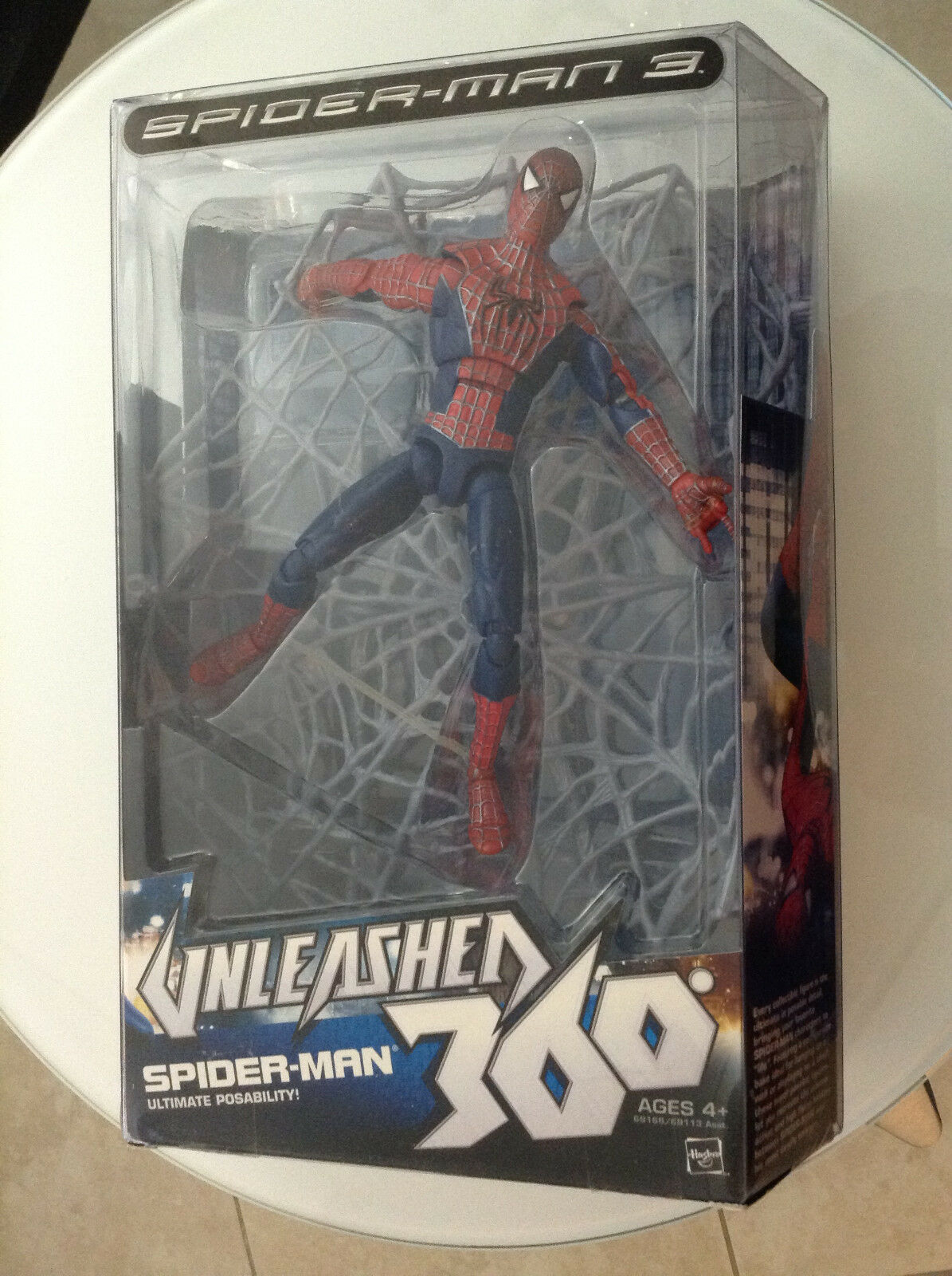SPIDER-MAN 3 UNLEASHED 360 SPIDER-MAN ULTIMATE POSABILITY 8