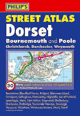 Philip's Street Atlas Dorset: Pocket Edition, Acceptable, PHILIP'S, Book
