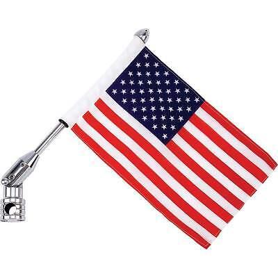 "Motorcycle 13/"" Flagpole Mount /& 6/""x9/"" Flag OR ONLY Flag USA Texas Canada POW FD"
