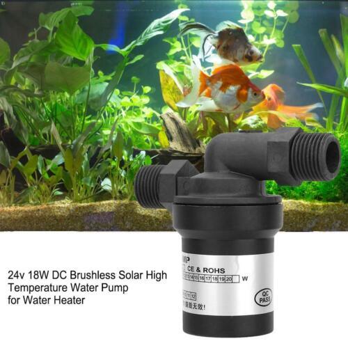 min Wasser Pumpe Solar Warmwasser Umwälzpumpe Bürstenlos LS 01 24V 11 l