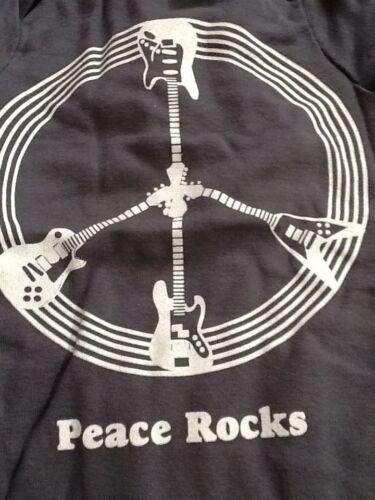 Peace Rocks Mens Tshirt Size L Baby Bodysuit Sz 6-12m BNWT Baby Shower Gift Set