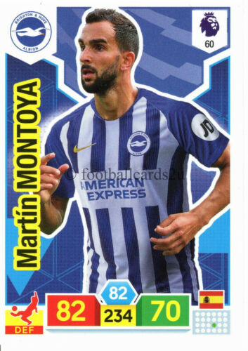 PANINI ADRENALYN XL Premier League 2019//20 Brighton base puissance appariement cartes