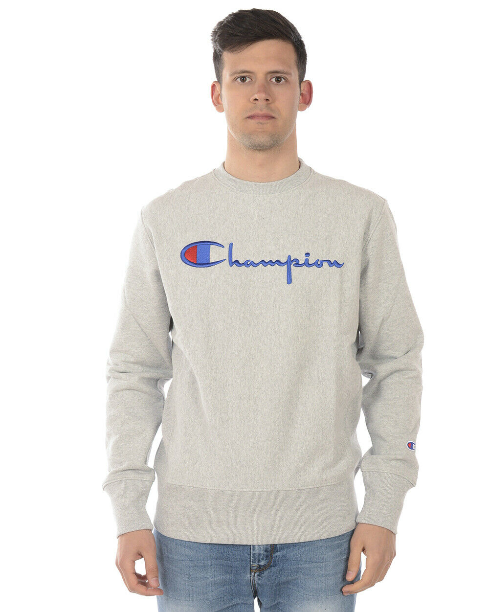 Champion schweißhemd Hoodie baumwolle Man grau 210975 EM004 Sz. XL PUT OFFER