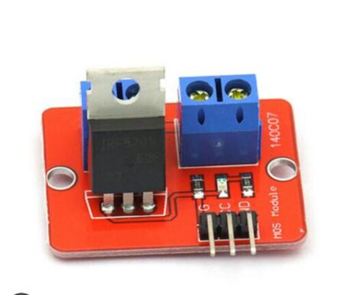 ARM 2pcs Q13 IRF520 MOS tube FET driver module for Arduino Raspberry Pi SCM
