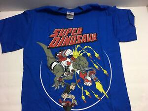 Super-Dinosaur-BLUE-Size-S-Small-Kirkman-Skybound-T-Shirt