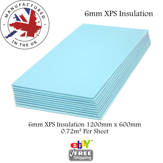 XPS Thermal Insulation Boards Floor Underlay and Underfloor Tile ...