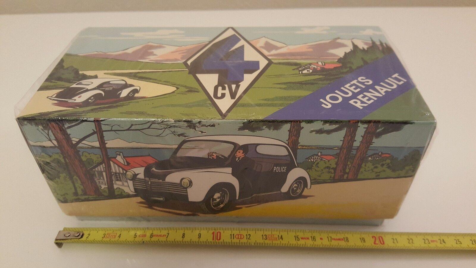 CIJ   Norev - Renault 4 CV Police (1 20) NEUVE Série Limitée à 1000 exemplaires