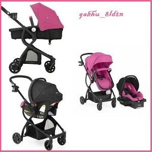 Image Is Loading Baby Stroller Car Seat 3in1 Travel System Infant