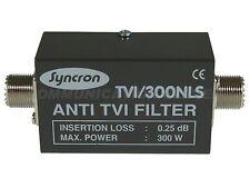 Euro Cb / Syncron tvi/300nls (F27) Filtro de paso bajo, 300w, 0,25 Db la pérdida de inserción