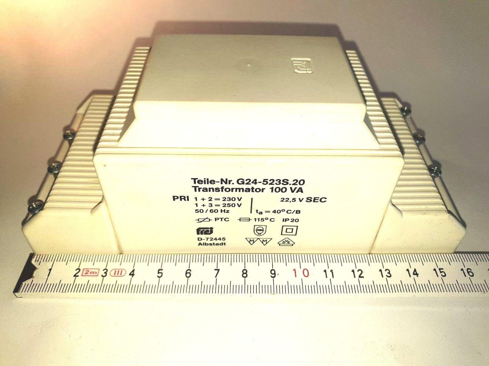 ERCO 83824 Sicherheitstransformator Trafo 12V 100VA