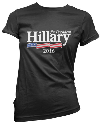Hillary For President 2016 America Election USA Clinton Womens Girls T-Shirt