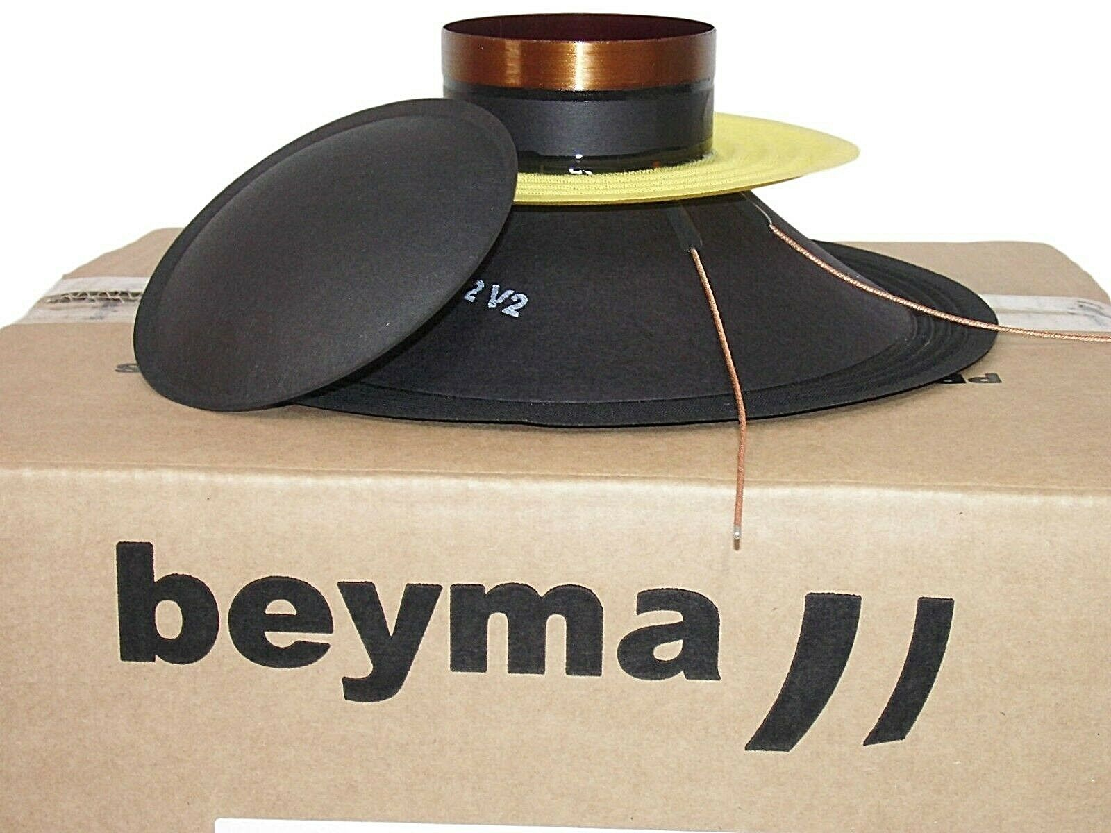 Beyma 102Nd N Recone Kit preassembled for 10  Drivers Cone Speaker Repair Set